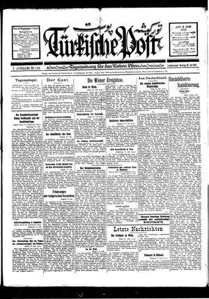 Türkische Post vom 18.07.1927