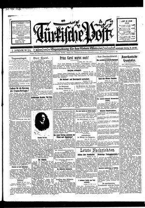 Türkische Post vom 26.07.1927