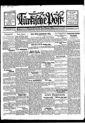 Türkische Post vom 27.07.1927