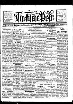 Türkische Post vom 28.07.1927