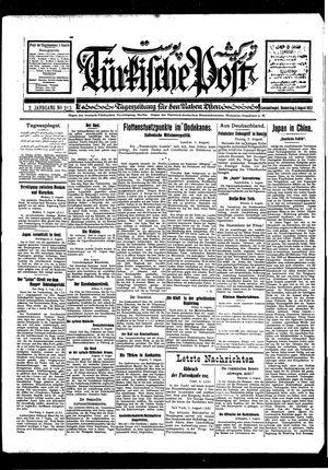 Türkische Post vom 04.08.1927