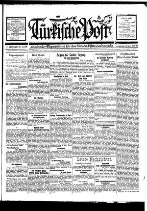 Türkische Post on Sep 2, 1927