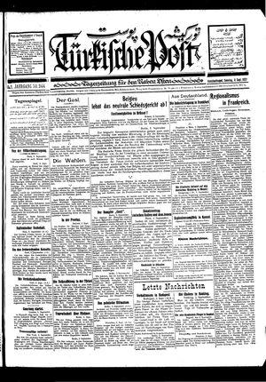 Türkische Post vom 04.09.1927