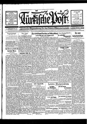 Türkische Post on Sep 15, 1927