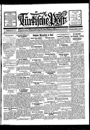 Türkische Post vom 17.09.1927