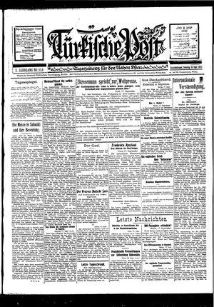 Türkische Post vom 18.09.1927
