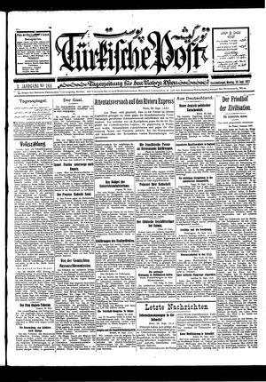 Türkische Post vom 26.09.1927