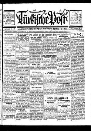 Türkische Post vom 27.09.1927