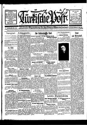 Türkische Post vom 28.09.1927
