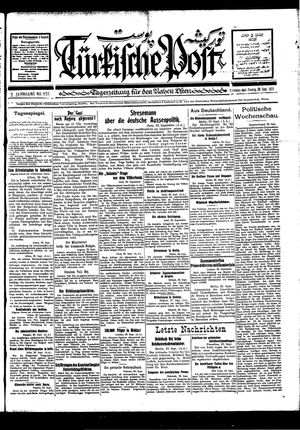 Türkische Post vom 30.09.1927