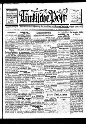 Türkische Post vom 01.10.1927