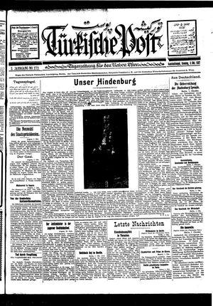 Türkische Post vom 02.10.1927