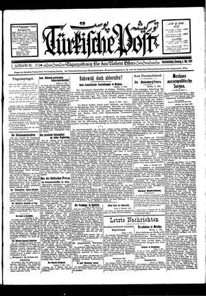 Türkische Post vom 04.10.1927