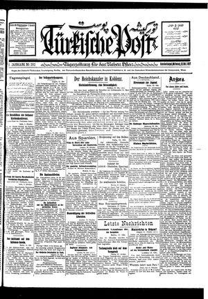 Türkische Post vom 12.10.1927