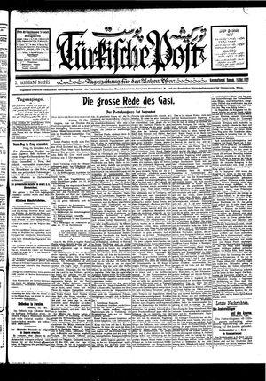 Türkische Post vom 15.10.1927