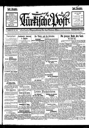 Türkische Post vom 18.10.1927