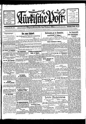 Türkische Post vom 01.11.1927