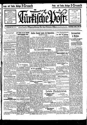Türkische Post vom 12.11.1927