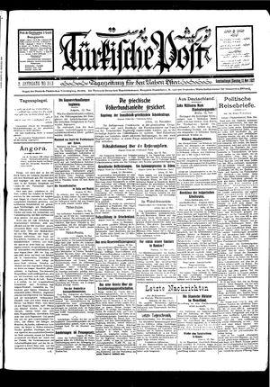 Türkische Post vom 13.11.1927