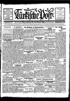 Türkische Post vom 14.11.1927