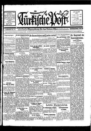 Türkische Post vom 15.11.1927
