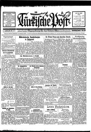 Türkische Post vom 17.11.1927