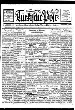 Türkische Post vom 18.11.1927
