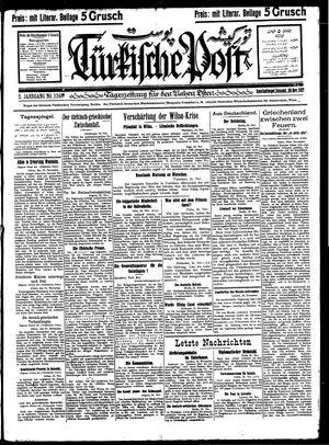 Türkische Post vom 26.11.1927