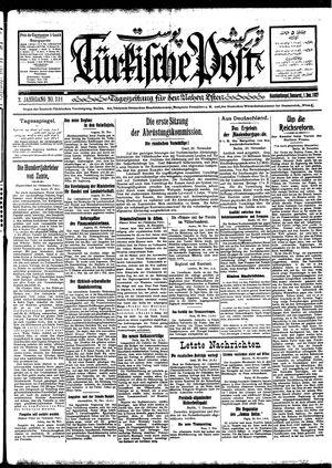 Türkische Post vom 01.12.1927