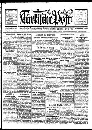 Türkische Post vom 03.12.1927