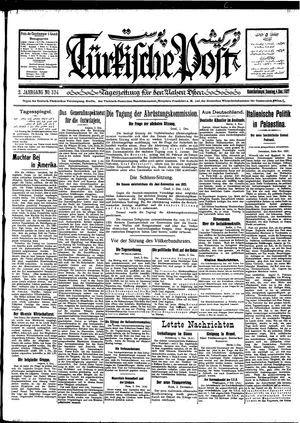 Türkische Post vom 04.12.1927