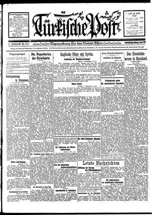 Türkische Post vom 05.12.1927