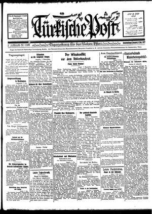 Türkische Post vom 08.12.1927