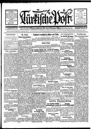 Türkische Post vom 09.12.1927