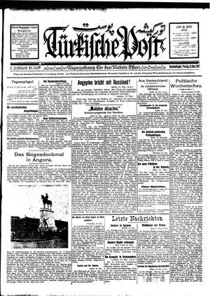 Türkische Post vom 16.12.1927