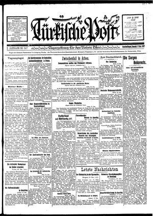 Türkische Post vom 17.12.1927