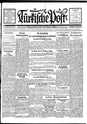 Türkische Post vom 18.12.1927