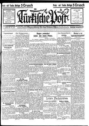 Türkische Post vom 20.12.1927