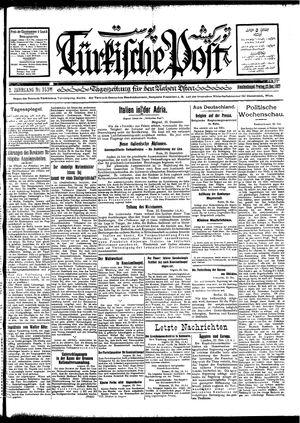 Türkische Post vom 23.12.1927