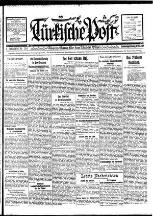 Türkische Post vom 27.12.1927