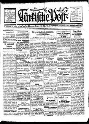 Türkische Post vom 31.12.1927