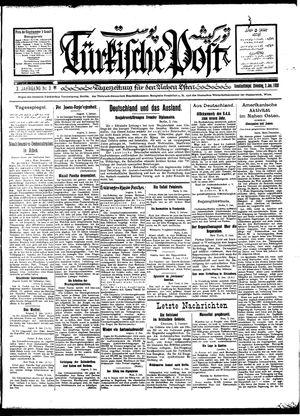 Türkische Post vom 03.01.1928