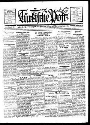 Türkische Post vom 08.01.1928