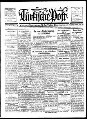 Türkische Post on Jan 12, 1928