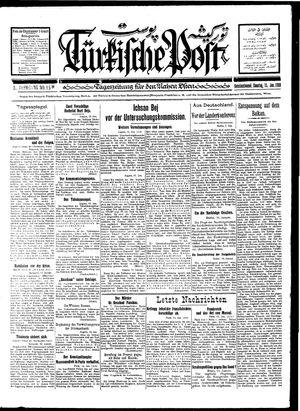 Türkische Post on Jan 15, 1928