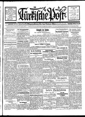 Türkische Post vom 22.01.1928