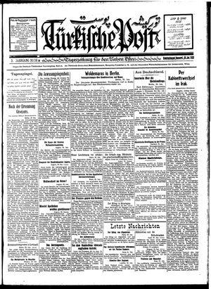 Türkische Post vom 26.01.1928