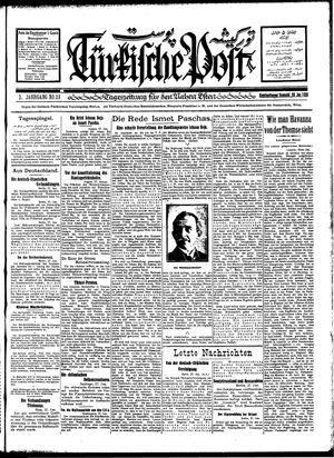 Türkische Post vom 28.01.1928