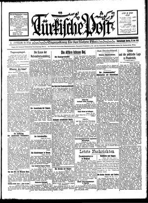 Türkische Post vom 30.01.1928