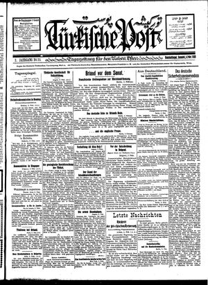 Türkische Post vom 04.02.1928